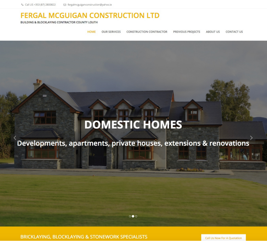 Fergal McGuigan Construction